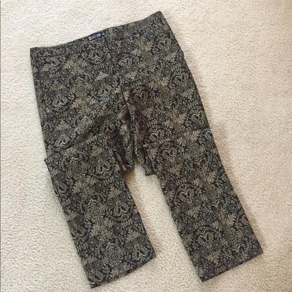 523afaff48fb New York & Company Pants | 7th Ave Design Studio Brocade Skinny ...